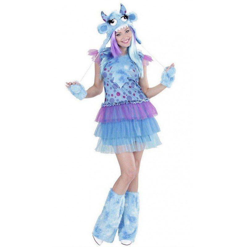 Crazy Alien Kostüm für Damen in blau online kaufen | OTTO