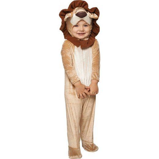 Baby Löwe Samtkostüm