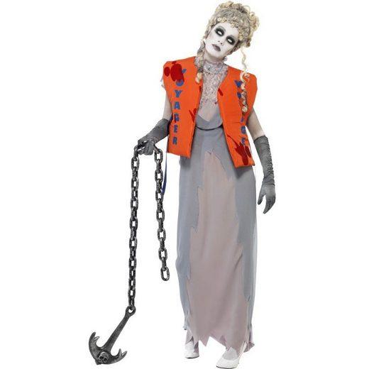 Schiffbrüchige Zombiebraut Kostüm - S