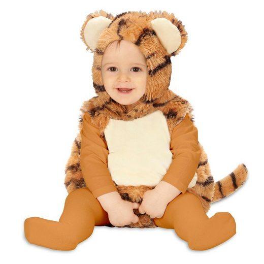 Kleines Tiger Plüschkostüm für Kinder
