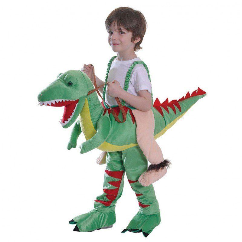 Witziges Dinosaurier-Reiter K - Kinder (5-7 Jahre)