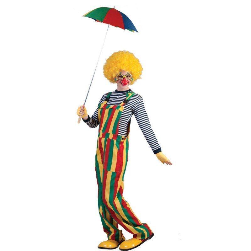 Steckdose online wähle echt zuverlässige Qualität Gestreifte Latzhose Clownkostüm für Erwachsene   OTTO