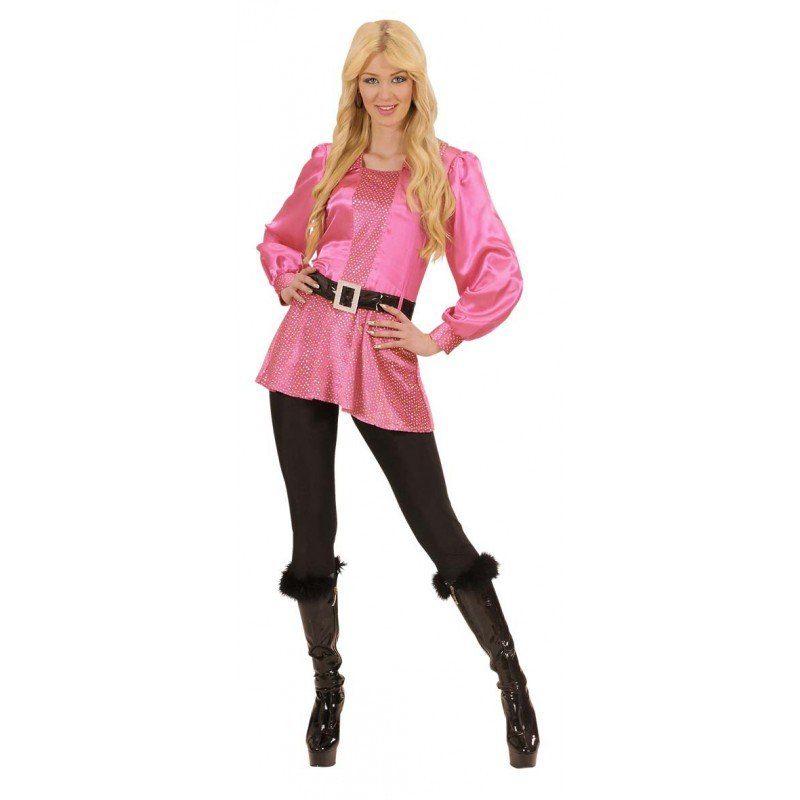 Pink Disco Fever Queen Kostüm