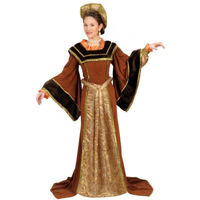 Tudor Königin Kostüm
