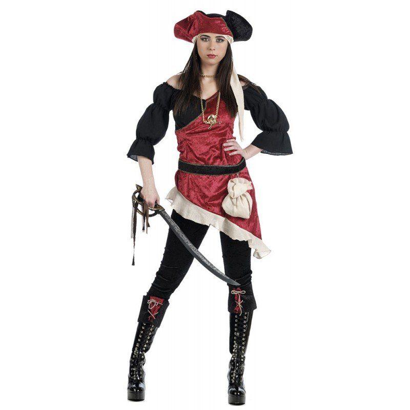 Piratin Alessandra Damenkostüm Deluxe
