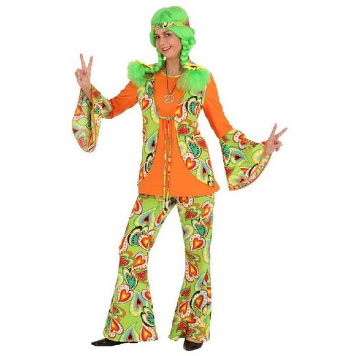 Love on Earth Hippie Babe Kostüm