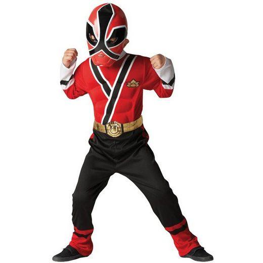 Power Rangers Red Ranger Kostüm für Kinder