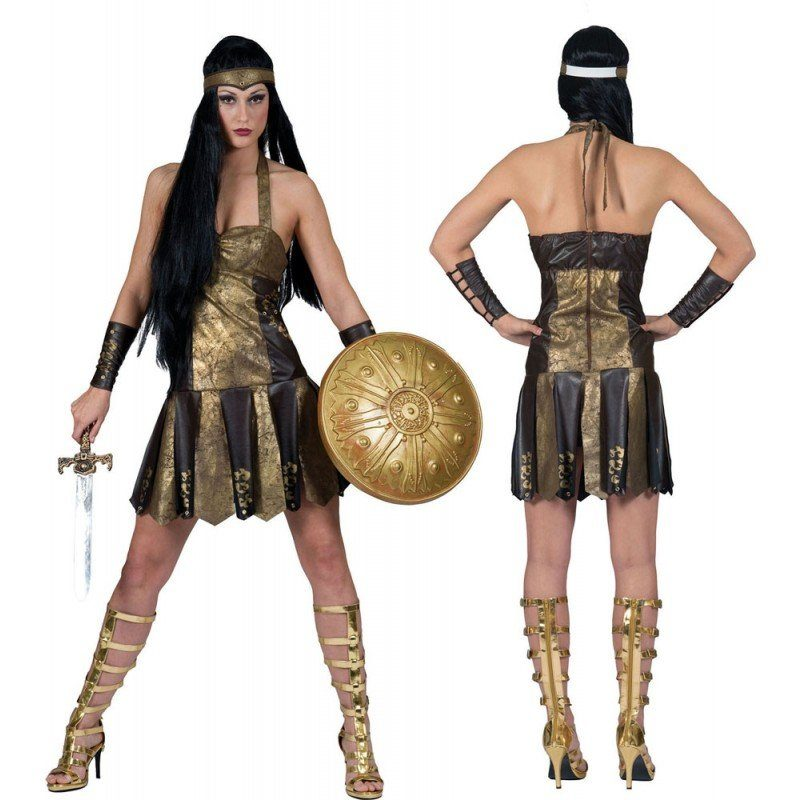 Anmutige Kriegerin Damenkostüm
