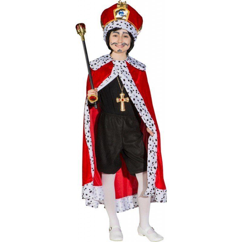 Königlicher Königsumhang Kinderkostüm