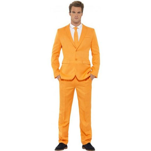 Mister Orange Party Anzug