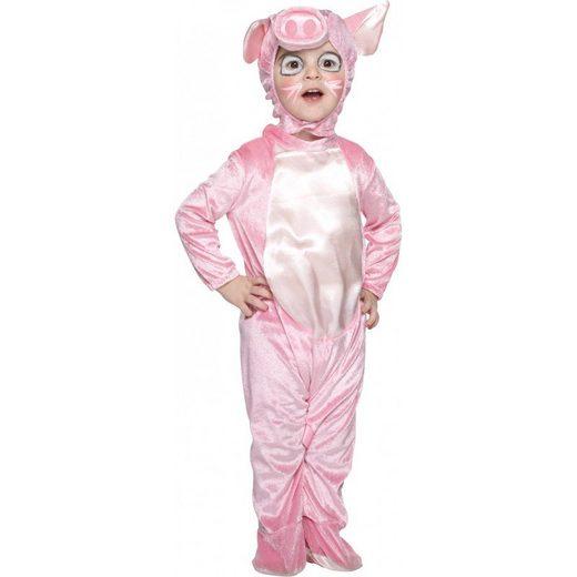 Baby Schwein Samtkostüm
