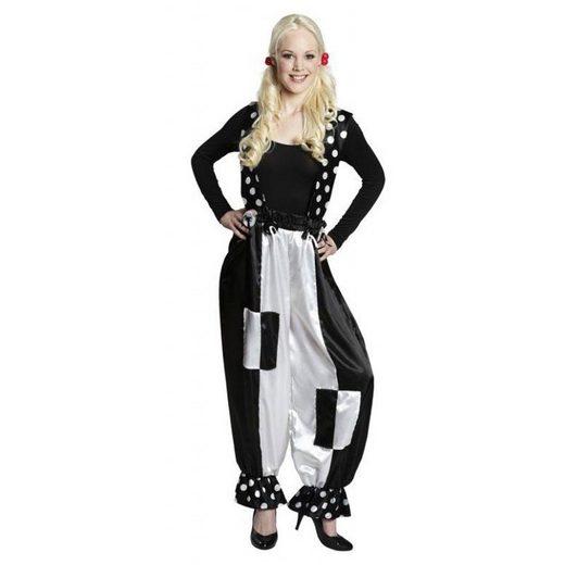 Pantomimin Kostüm Pierrot Hose