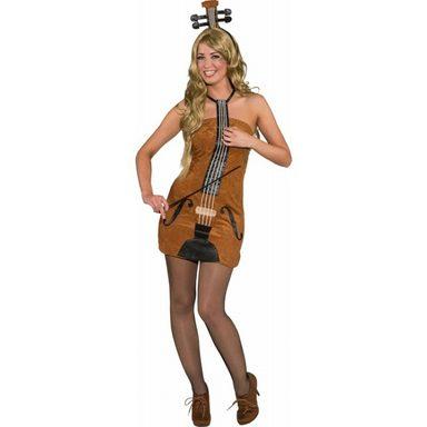 Geigen Kleid Damenkostüm