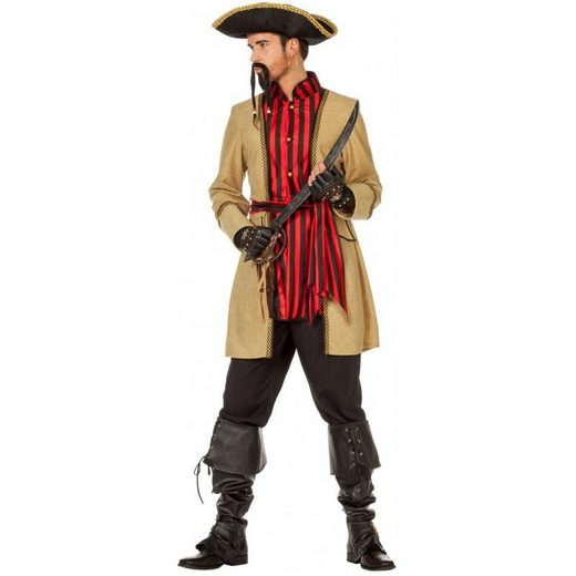 Captain Jeffrey Jones Piraten Kostüm