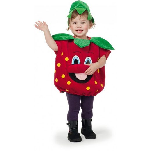 Mini Erdbeere Kinderkostüm
