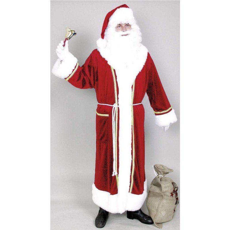 Exklusiver Weihnachtsmannmantel aus Samt