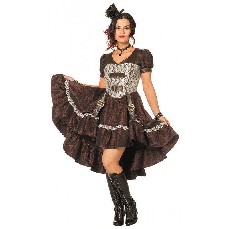viktorianische lady steampunk kostum