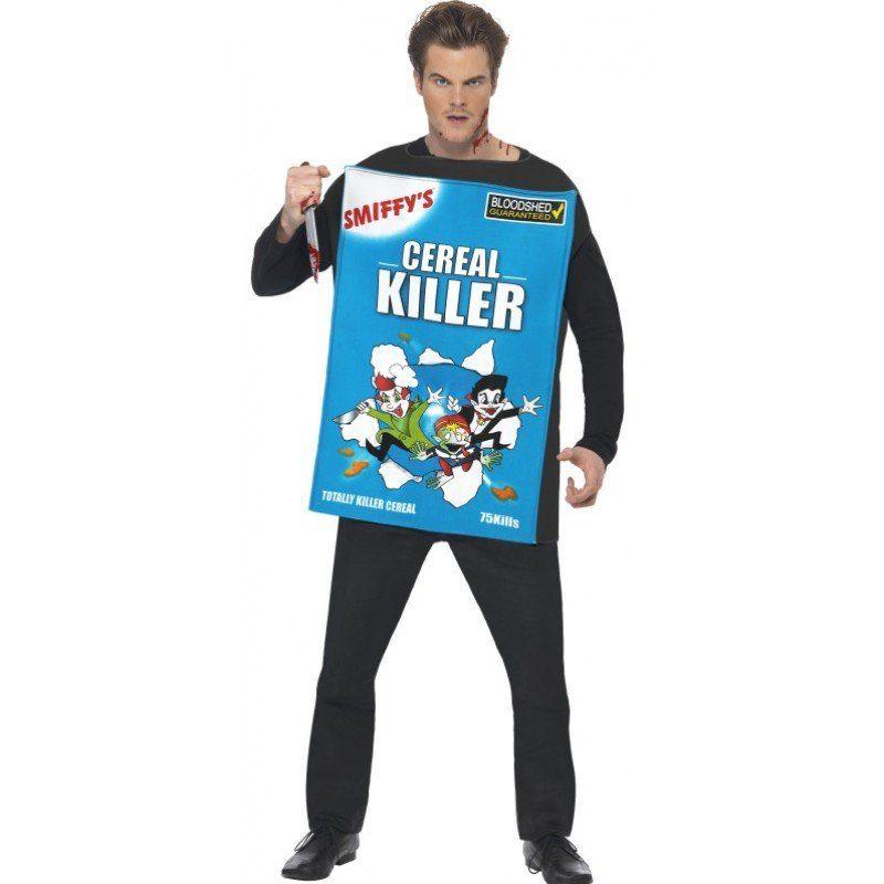 Cornflakes Cerealien Murder Kostüm - Einheitsgröße