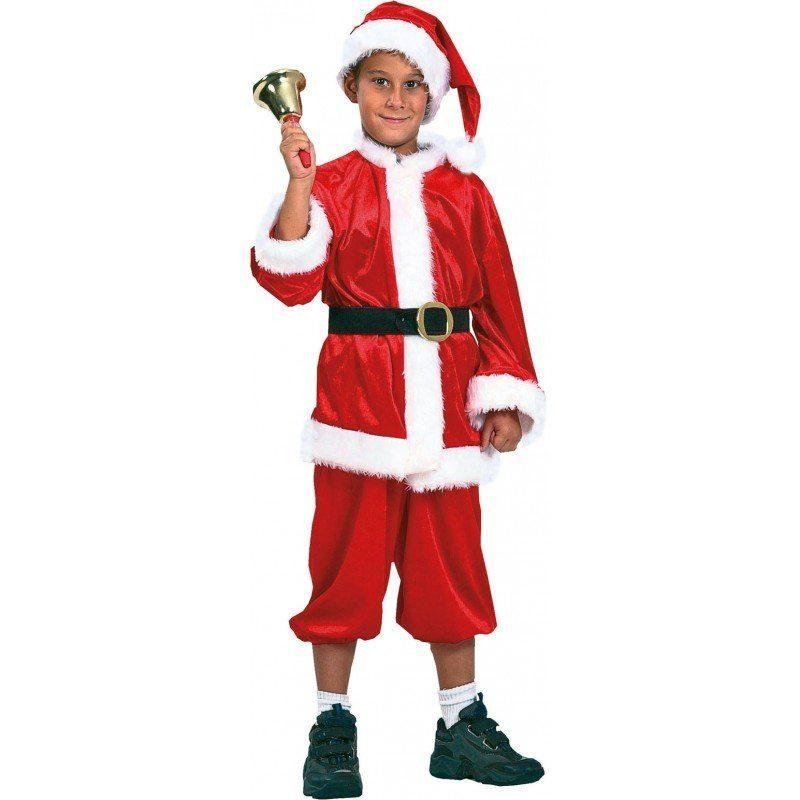 Santa Boy Weihnachtsmann Kinderkostüm