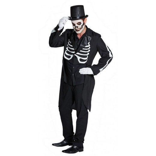 Skelett Frack Herrenkostüm