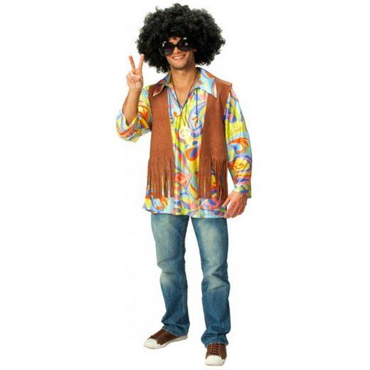 Hippie Kostüm 2tlg. für Herren