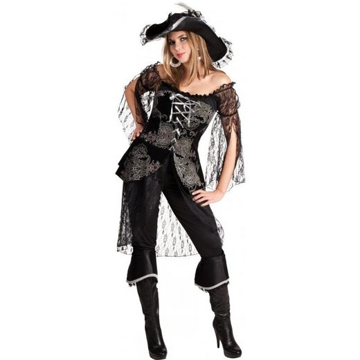 Royal Tiefsee Piratin Kostüm Deluxe