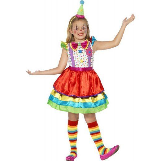 Happy Flower Clown Kostüm für Mädchen