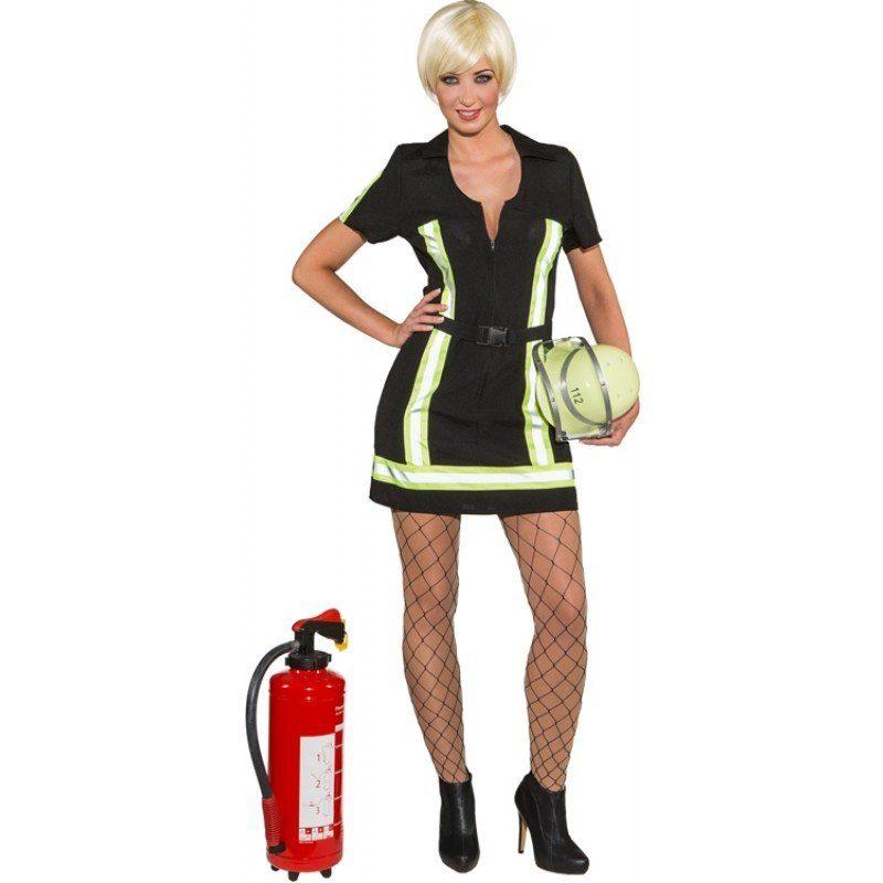 Sexy Feuerwehr Lady Damenkostüm