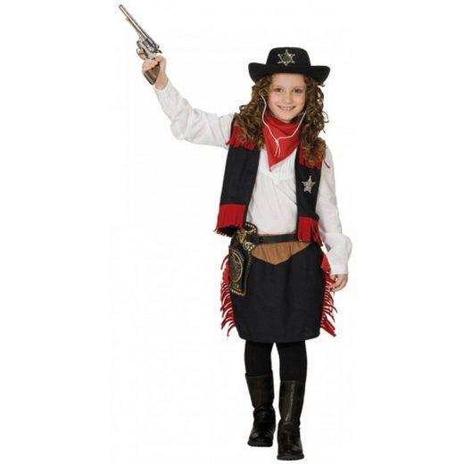 Cowgirl Kostüm 2tlg. für Kinder