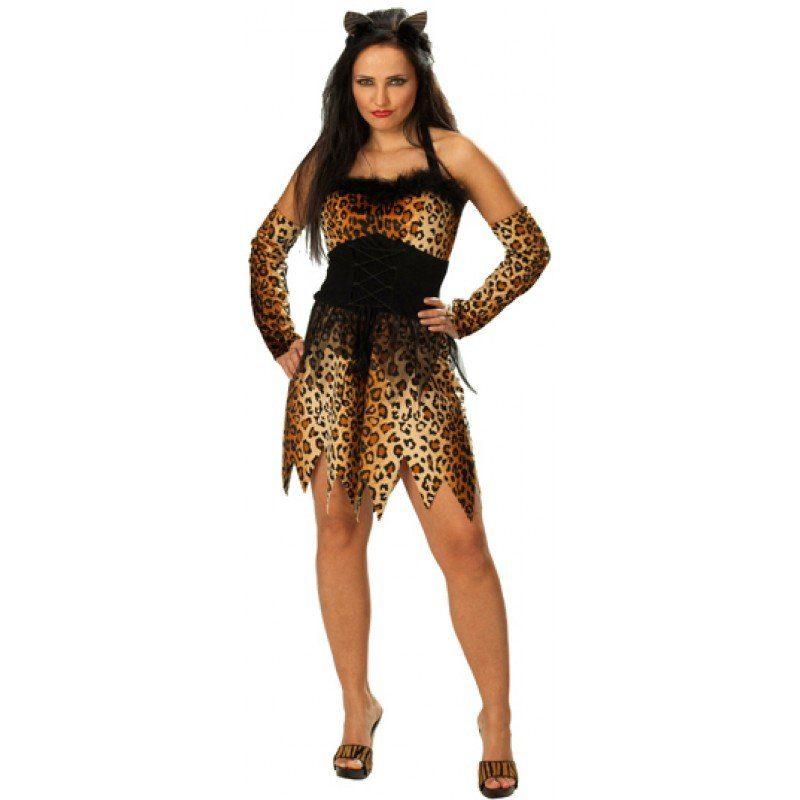 Leoparden Kostüm für Damen