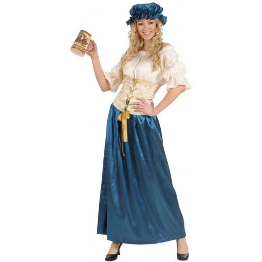 Mittelalterliche Hofmagd Wirtin Kostüm