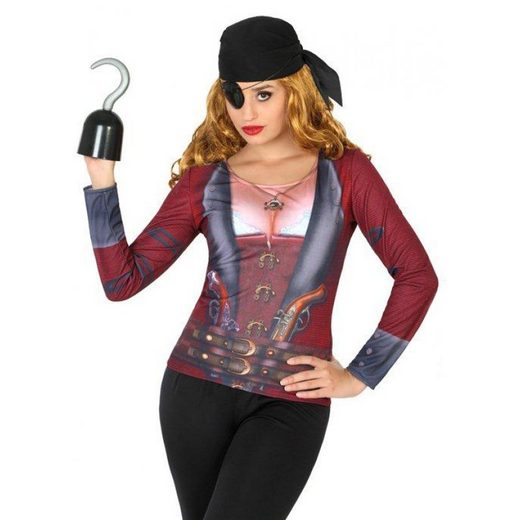 Piratin Shirt für Damen