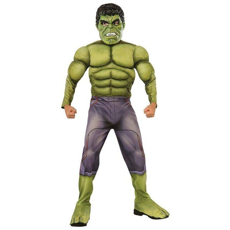 Avengers Hulk Kinderkostüm Deluxe