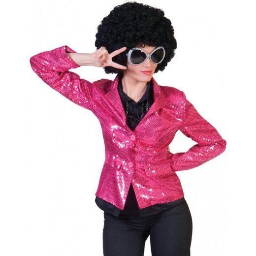 Saturday Night Disco Damenjacke pink