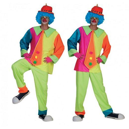 Silly Jimmy Clown Herrenkostüm