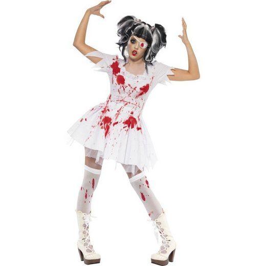 Horror Doll Zombie Lolita Puppe Kostüm