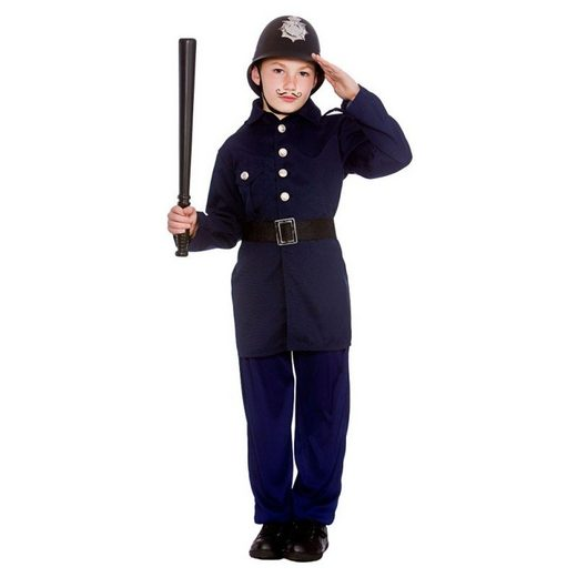 Viktorianischer Polizei Officer Kinderkostüm