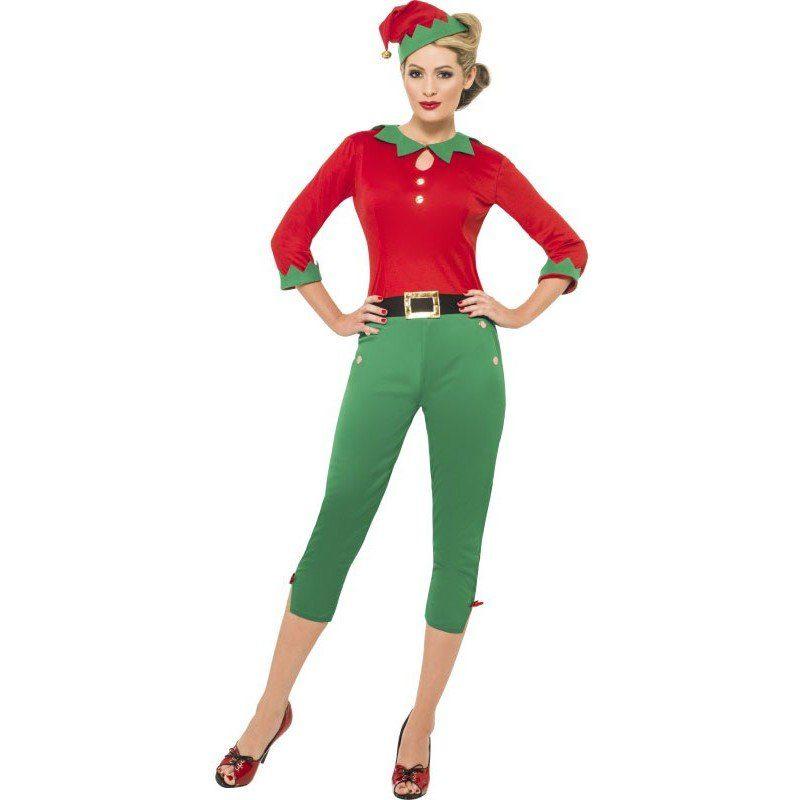 Elf Weihnachtskostüm für Damen