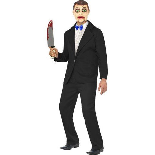 Bauchredner Puppe Killer Halloween Kostüm