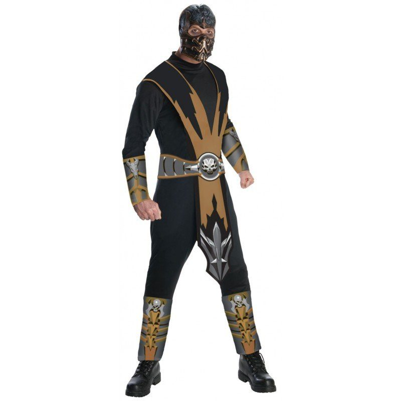 Mortal Kombat Scorpion Herrenkostüm