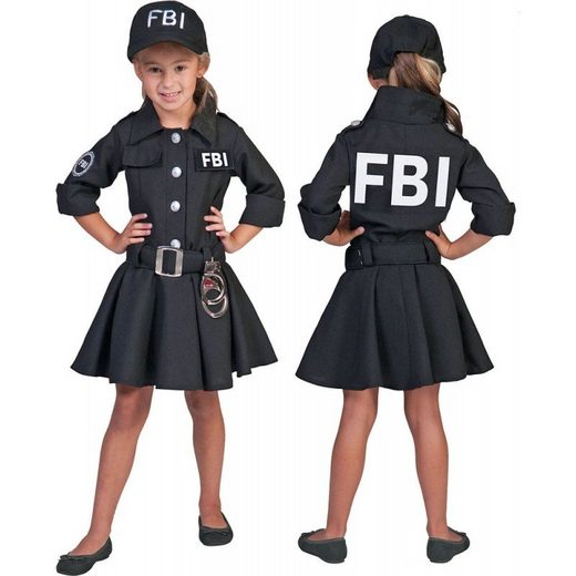 FBI Special Agent Girl Kinderkostüm