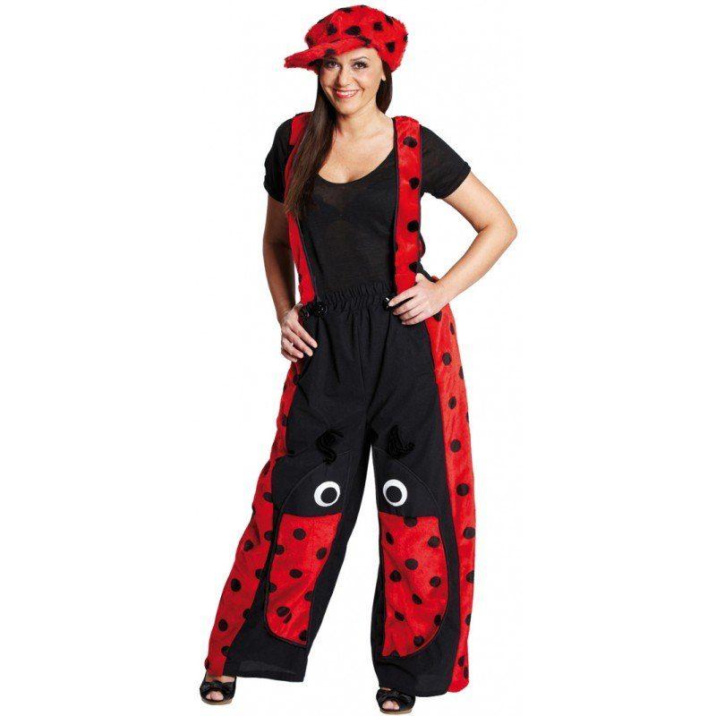 Plüschlatzhose Marienkäfer Kostüm für Damen