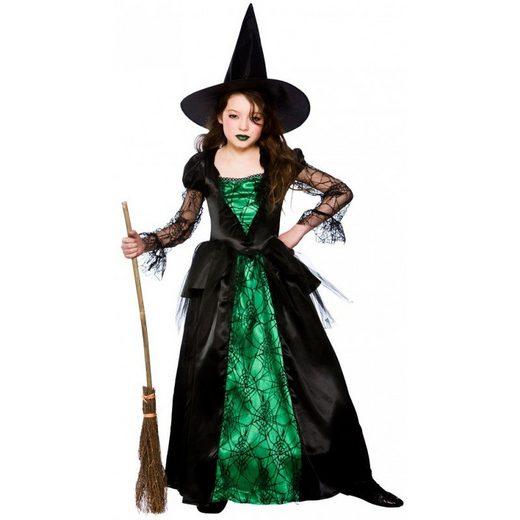 Lara Waldhexe Kinderkostüm grün-schwarz