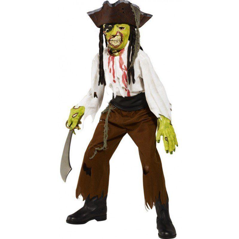 Piraten-Monster Kinderkostüm