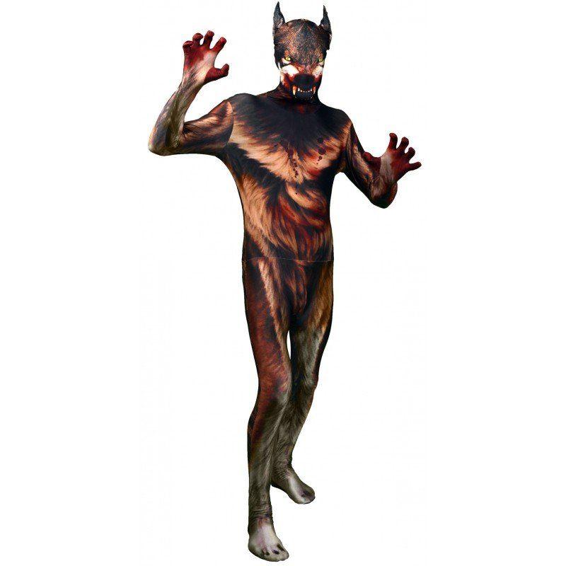 Halloween Morphsuit Werwolf