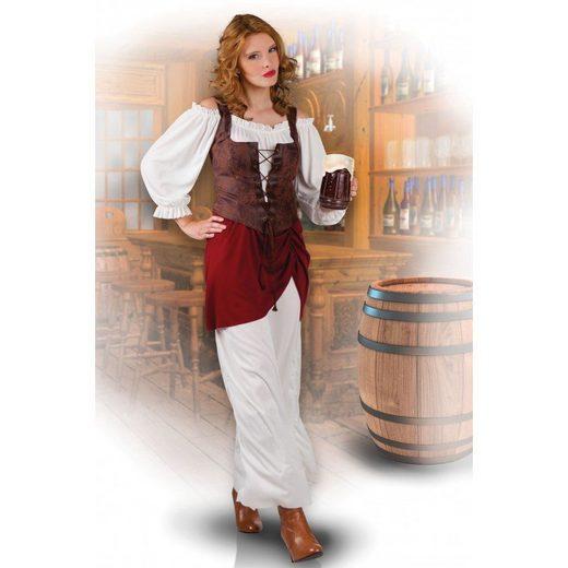 Lady Taverne Wirtin Kostüm