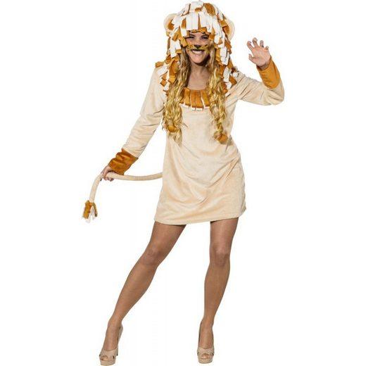 Freches Löwen Kleid für Damen