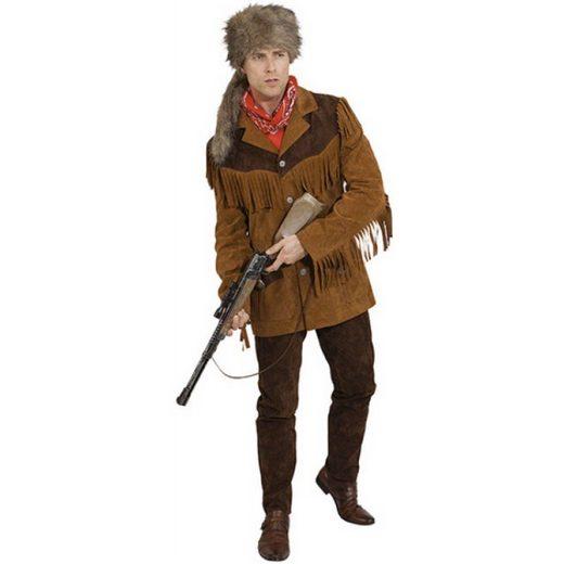 Wilder Western Jacke für Herren braun
