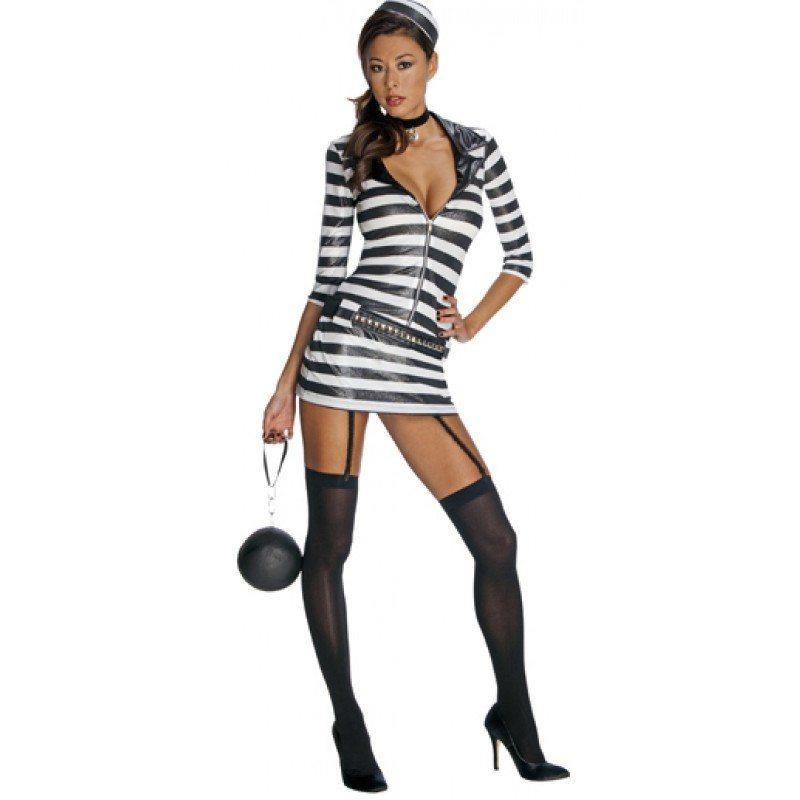 Gefangenes sexy Kostüm