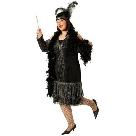 Glamourgirl Charleston Kostüm für Damen